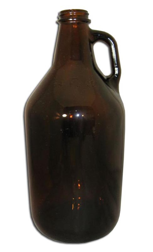 1 2 Gallon Glass Jug Amber Home Beer And Wine Making