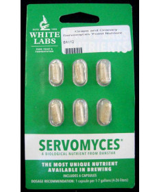 Servomyces Nutrient: White Labs