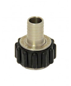 "Quick Connector (NPT to Barb)- 1/2"" x 1/2"""