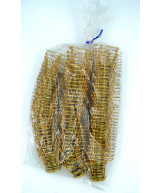 Champagne Wire Hood 100 count