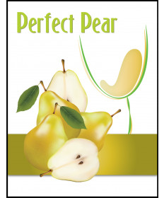 Kiwi Pear Label