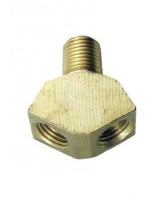 Wye Adaptor-1/4 MPTx 1/4 FPT