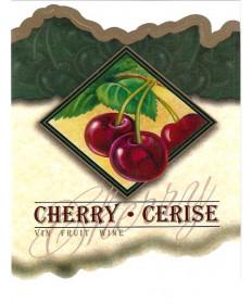 Cherry Wine Label