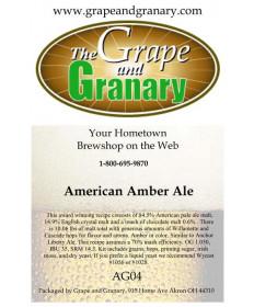 American Amber: All Grain