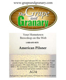 American Pilsner: All Grain