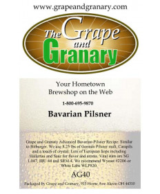 Bavarian Pilsner: All Grain
