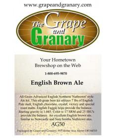 English Brown Ale: All Grain