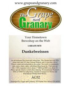 Dunkelweissen: All Grain