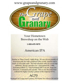 American IPA: All Grain