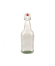 Swing Top Bottles- Clear- 16 ounce