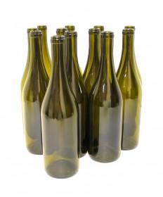 Wine Bottle Burgundy 5th-Green 12/cs