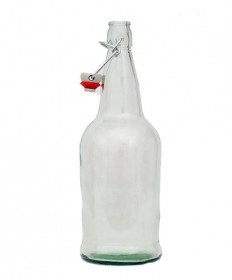 Swing Top- 1 liter- Clear