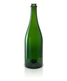 Champagne Bottle- Green 12/CS