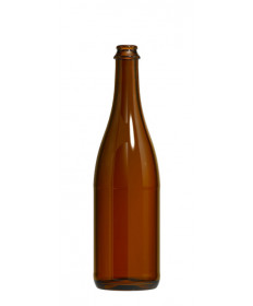 Champagne Bottle- Amber 12/CS