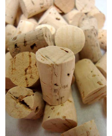 #8 Taper Corks- Bag Of 25