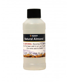 Almond Flavor- 4 oz Natural