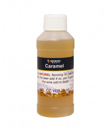 Caramel Flavor- 4 oz bottle All Natural