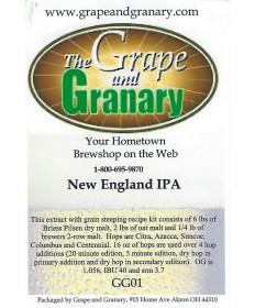 New England IPA- Exract w/ Grain Steeping