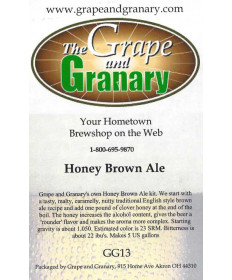 Honey Brown Ale- GG