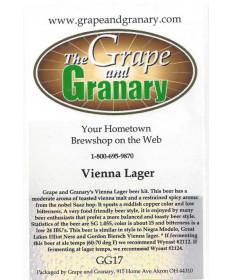 Vienna Lager- G & G