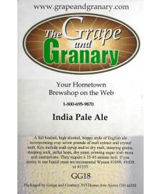 India Pale Ale- G & G