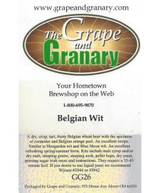 Belgian Wit- G & G