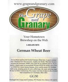 Wheat Beer- German G & G