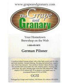 German Pilsner- G & G