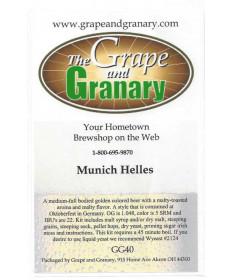 Munich Helles- G & G