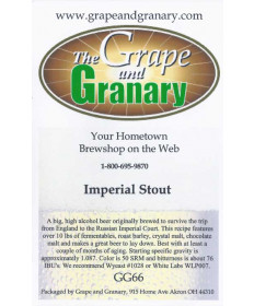 Imperial Stout- G & G