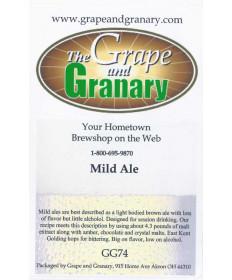 Mild Ale- G & G