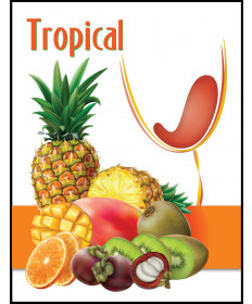 Exotic Fruit- Label