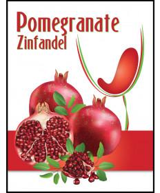 Pomegranate Zinfandel- Label