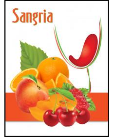 Sangria Zinfandel Label