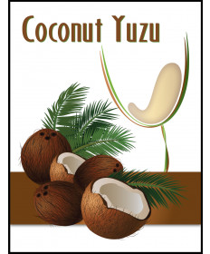 Coconut Yuzu Label