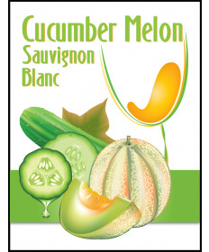 Cucumber Melon Sauv Blanc Label