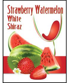 Strawberry Watermelon Label