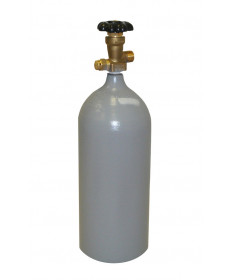 CO2 Cylinder- 5LB Steel (Reconditioned)