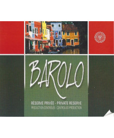 Barolo- Wine Label