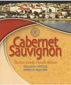 Cabernet Sauvignon- Wine Label