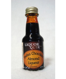 Swiss Chocolate Almond: Liquor Quick 20 ml Bottle