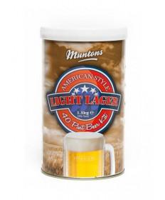 Muntons American Style Light Lager- 3.3 lb