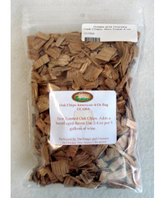 Oak Chips- Non Toast- 4 oz bag
