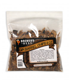 Gin Barrel Chips- 4 oz Bag