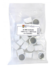 Plastic PET Caps- Bag of 24