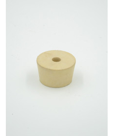 #8-1/2 Drilled Rubber Stopper
