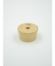 #9 Drilled Rubber Stopper