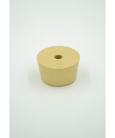 #10 Drilled Rubber Stopper