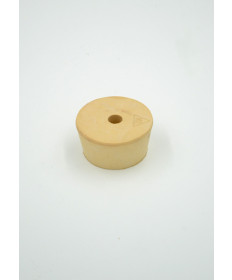 #10-1/2 Drilled Rubber Stopper