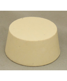 "#10-1/2"" Solid Rubber Stopper"